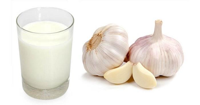 A fokhagyma bélrendszerre gyakorolt kettős hatása, Fokhagymás tej bélféreg